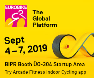Arcade Fitness Eurobike Banner