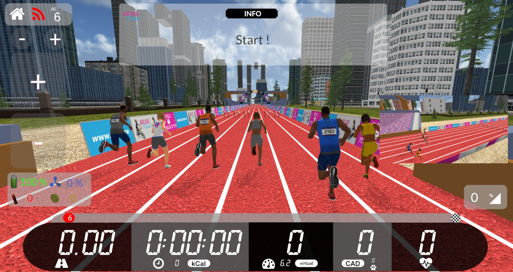 Arcade Fitness 6  screenshot