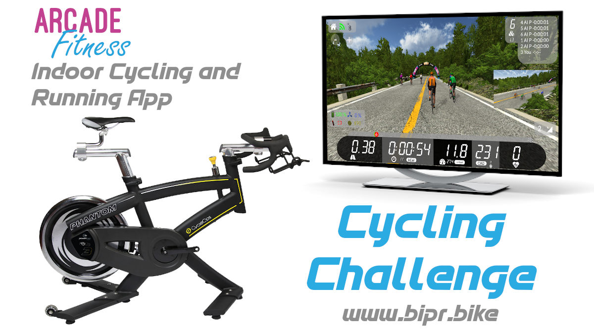Arcade Fitness Cycling Challenge