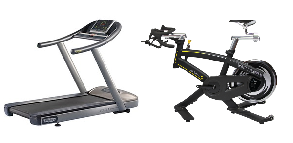 Arcade Fitness with treadmill or stationary bike